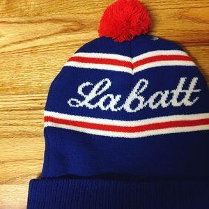 Accessories - Labatt Blue Beer Beanie Hat 76b05608b054